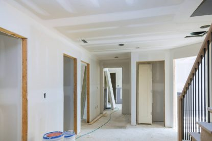 Plastering Domestic Gyprock Installation. Central Coast Residential area.