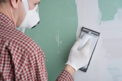 How to patch a hole on gyprock plasterboard