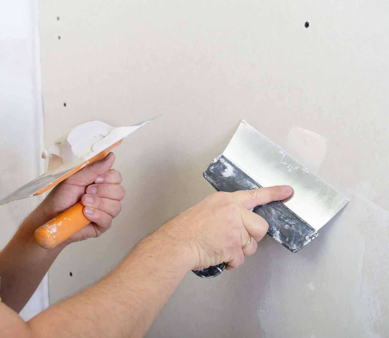 Small hole gyprock wall patching