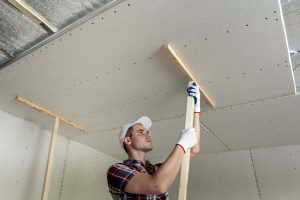Sagging ceiling repair in central coast residential area